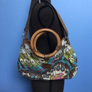 Relic Canvas Butterfly Wing Tote Bag